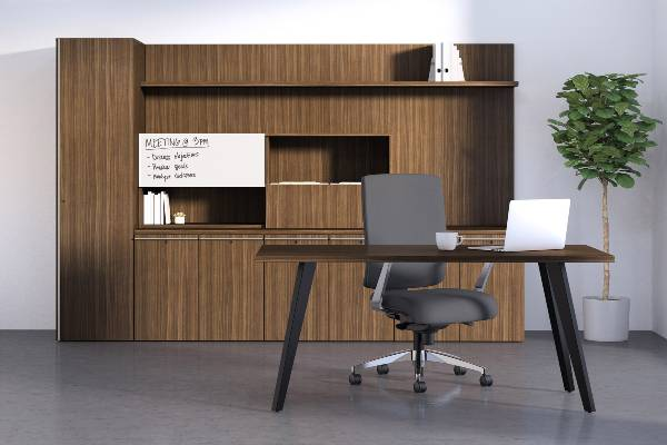 With a vast array of storage and desk options, along with reception stations, occasional, and meeting tables, Tessera's modular design allows you to tailor the product to fit your personal needs. Wall panel solutions and adjustable height options complete this comprehensive offering.
