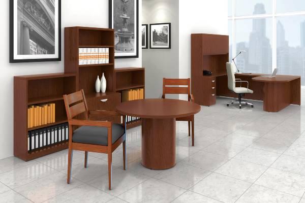 Wood Veneer Desking