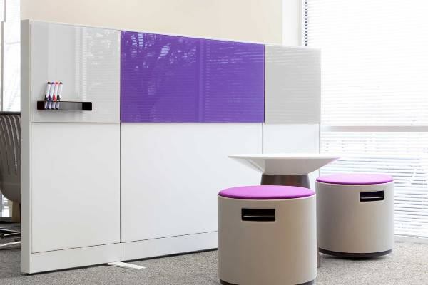 The easy, cost-effective upgrade for furniture systems. Turn your existing workspace into a creative canvas.