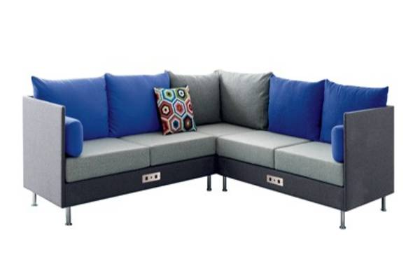 With its distinctive channel stitching, Atelier provides an elegant, functional solution to privacy needs in an open office environment. Available in two heights, the walls provide an acoustical value through the reduction of noise. Optional power and data enable you to stay connected and powered up. Atelier sofas and benches are offered in 48