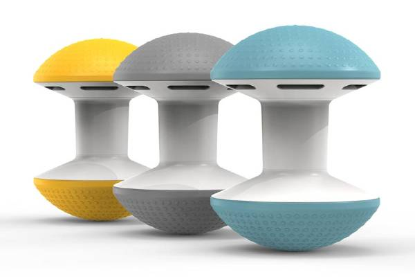 Ballo is designer Don Chadwick's vision of what a multipurpose stool should be—fun, engaging and perfect for short-term, active sitting in the home or office. With a compact central column and lightweight air-filled domes, Ballo is an imaginative take on traditional ball chairs, supporting flexibility and freedom of movement. Available in a variety of vibrant colors, Ballo has a dynamic nature that allows it to integrate into a wide range of environments.