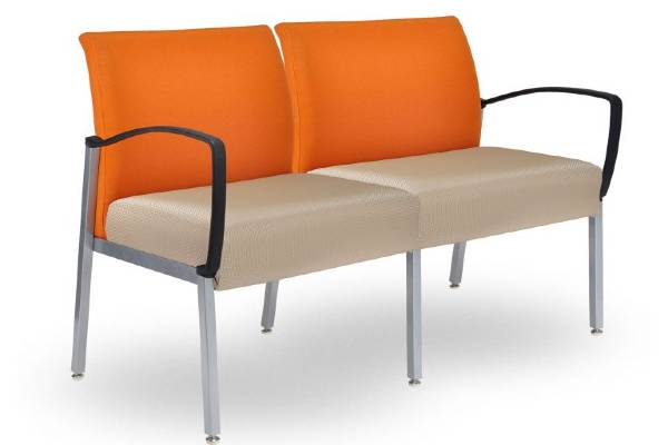 Durable, flexible and attractive tandem seating can be configured to fit any public seating space. Easy to reconfigure. 4-leg, 6-leg chairs, connecting and freestanding tables give you unlimited configuring ability. Designed for the environment, utilizing local materials and promoting a long life in the field. Replaceable seats, backs and arms are easy to switch in the field.