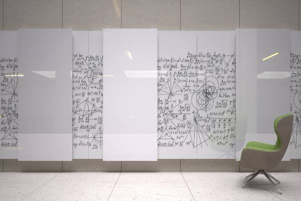 For years, the fixed walls of modern office spaces have been steadily removed to create an open environment. Glide is the next step in the revolution, maximizing existing wall space to provide hundreds of consolidated square feet of glass writing surface and inspire personal communication and collaboration.