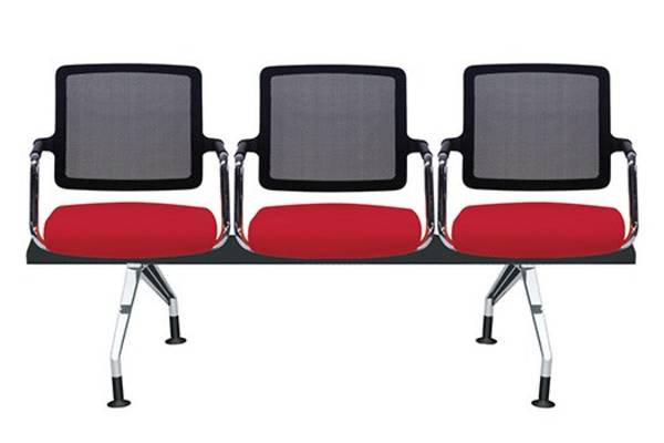 Logan brings a trim and finely contoured design to your workspaces, meeting, and training rooms. The mesh back provides comfort for those seated over long periods of time and allows for the maximum dissipation of body heat. The upholstered full back and molded seat ensure full body support while the waterfall front reduces stress to your legs. Logan is also available on a beam.