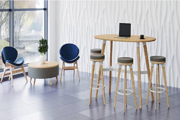The Resi Collection is comprised of seven products all serving home-style comfort and forward-thinking workplaces in a variety of spaces. Featuring versatile and durable components, all with the comforts of home. Highlighting a simple aesthetic, ease of configuration and elements that alternate between casual and professional.