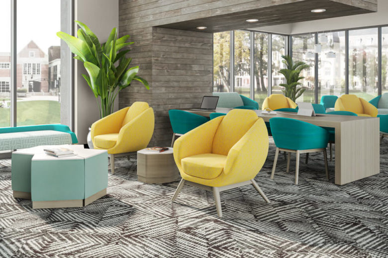 Beautifully designed collaborative furniture that is resistant to dings and scuffs and is easily maintained.